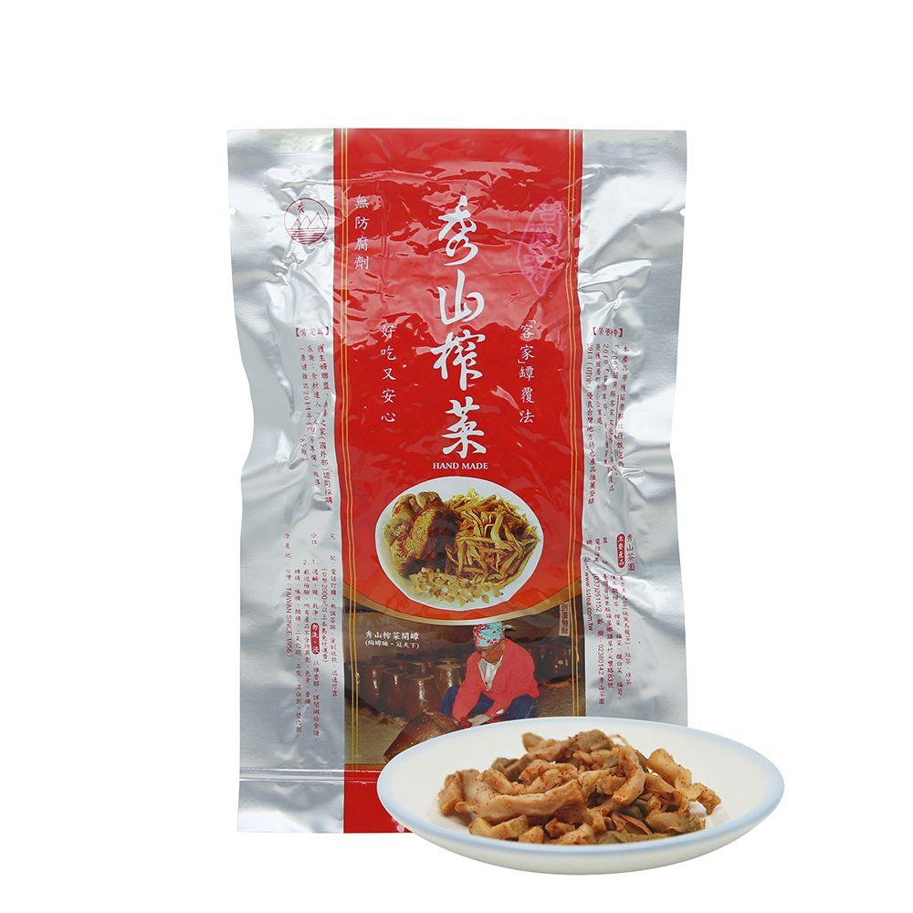 台灣秀山—純天然古法榨菜(絲)