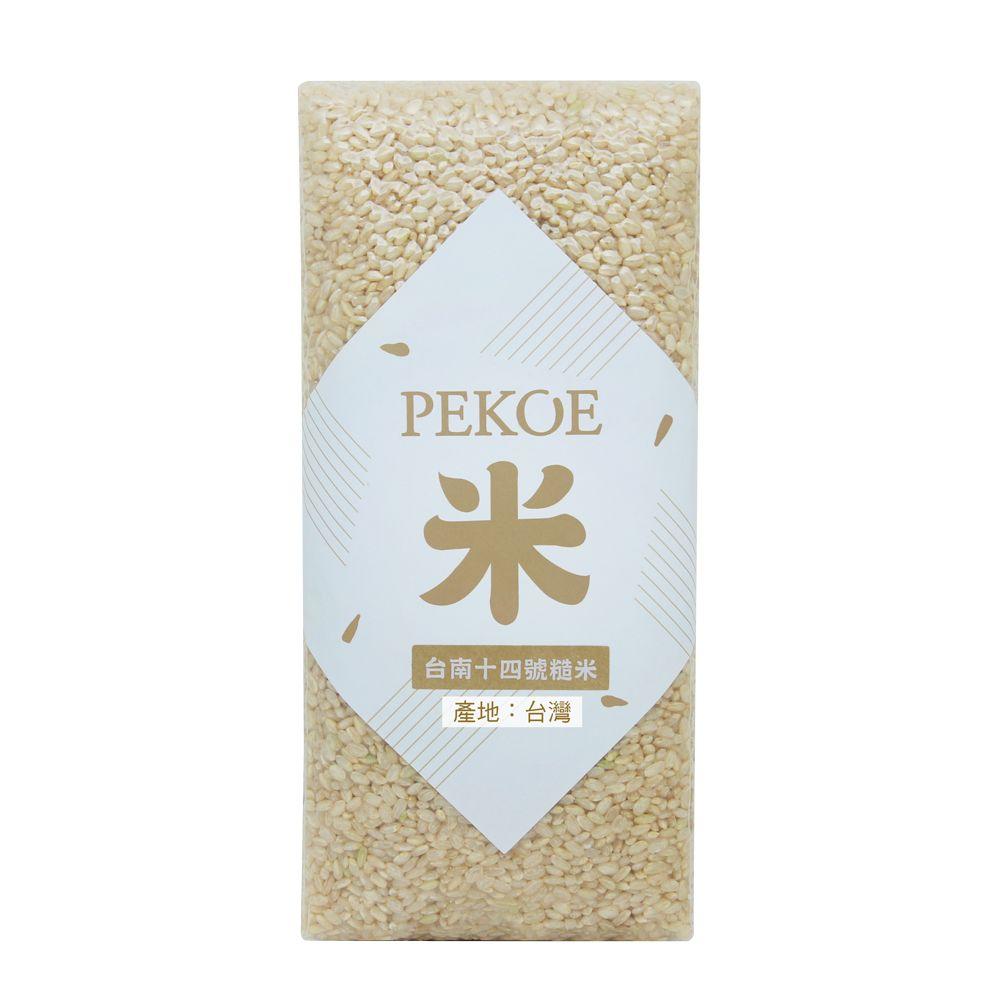 PEKOE選米—台南14號糙米