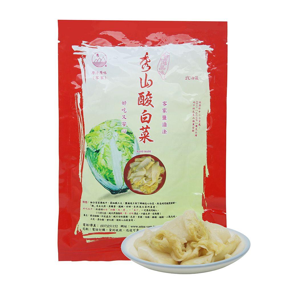 台灣秀山—純天然酸白菜