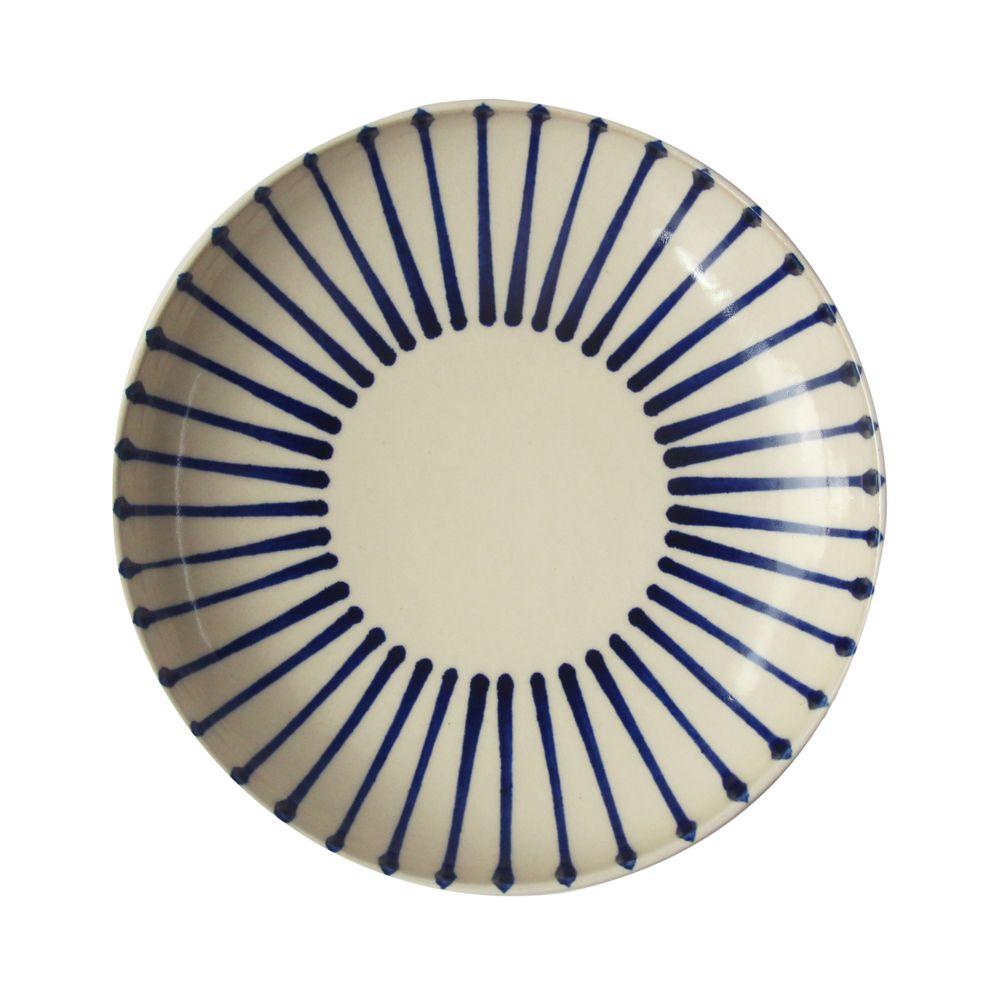 沖繩陶器工房壹—圓盤(線.18cm)