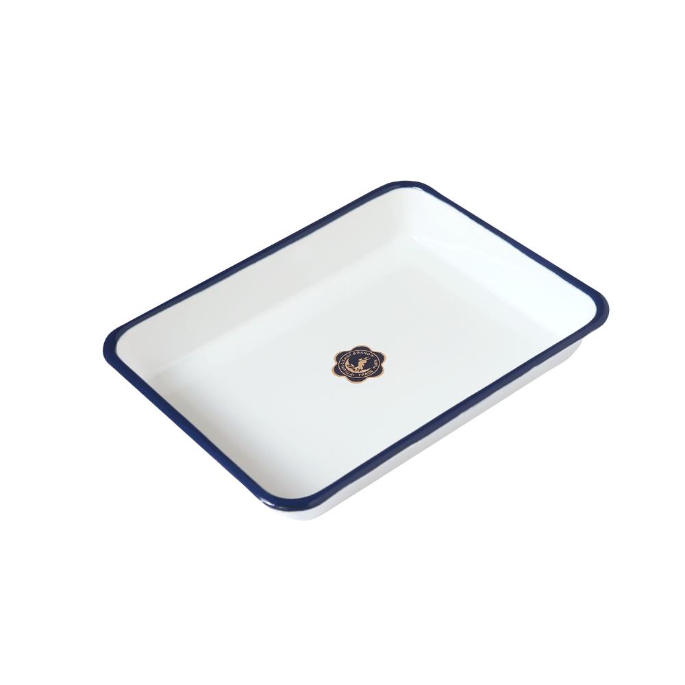 日本月兔印—琺瑯調理方盤(21cm)
