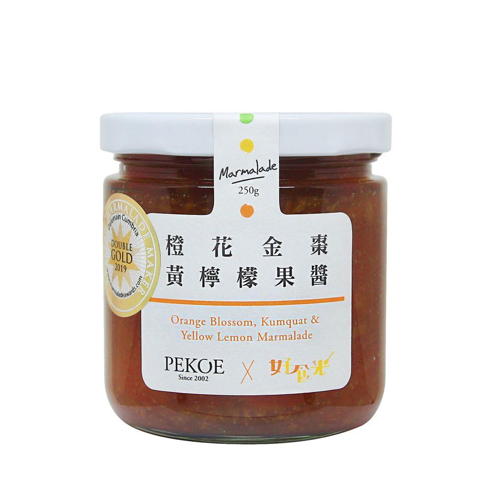 PEKOE X 好食光—橙花金棗黃檸檬果醬