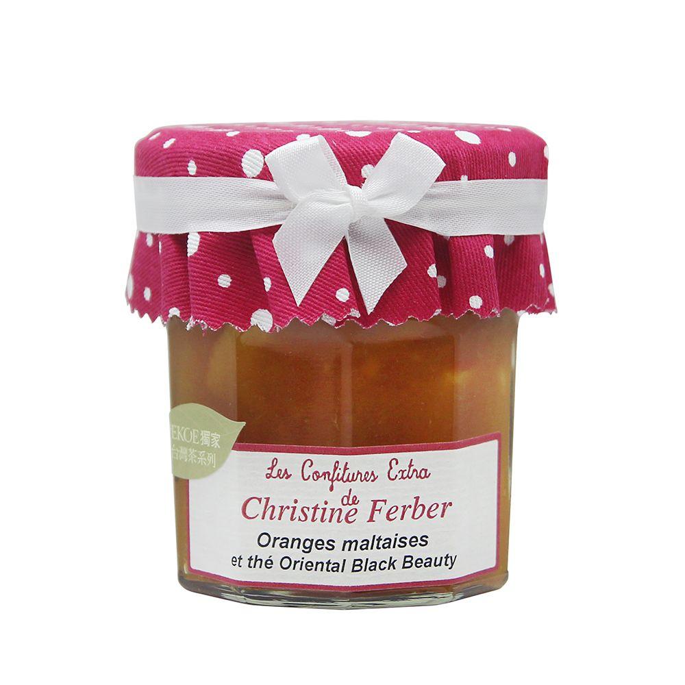 法國Christine Ferber—柳橙台灣蜜香紅茶果醬(PEKOE獨家)
