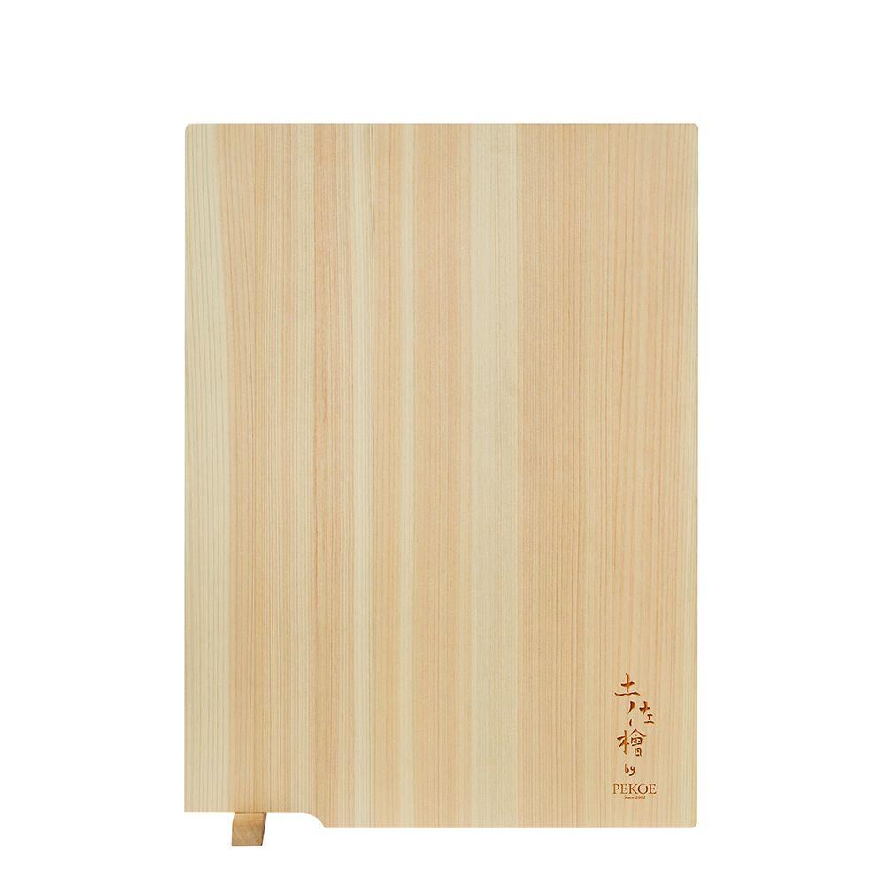 PEKOE精選—日本土佐龍檜木立式砧板(小)