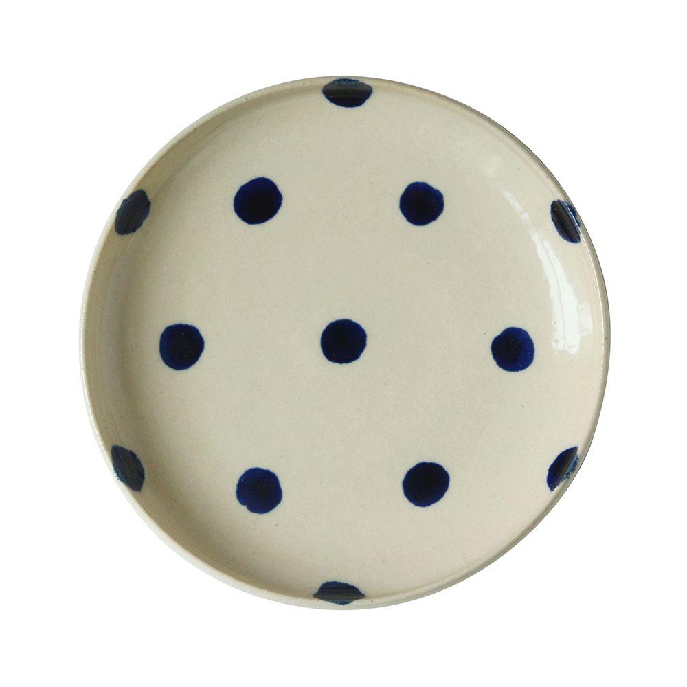 沖繩陶器工房壹—圓盤(水玉.15cm)