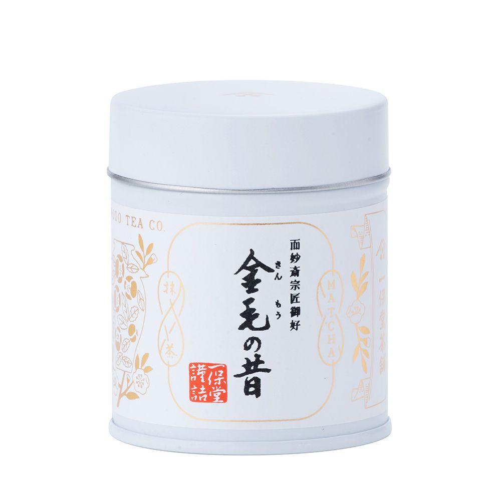 日本一保堂—「金毛之昔」抹茶,40g(罐裝)