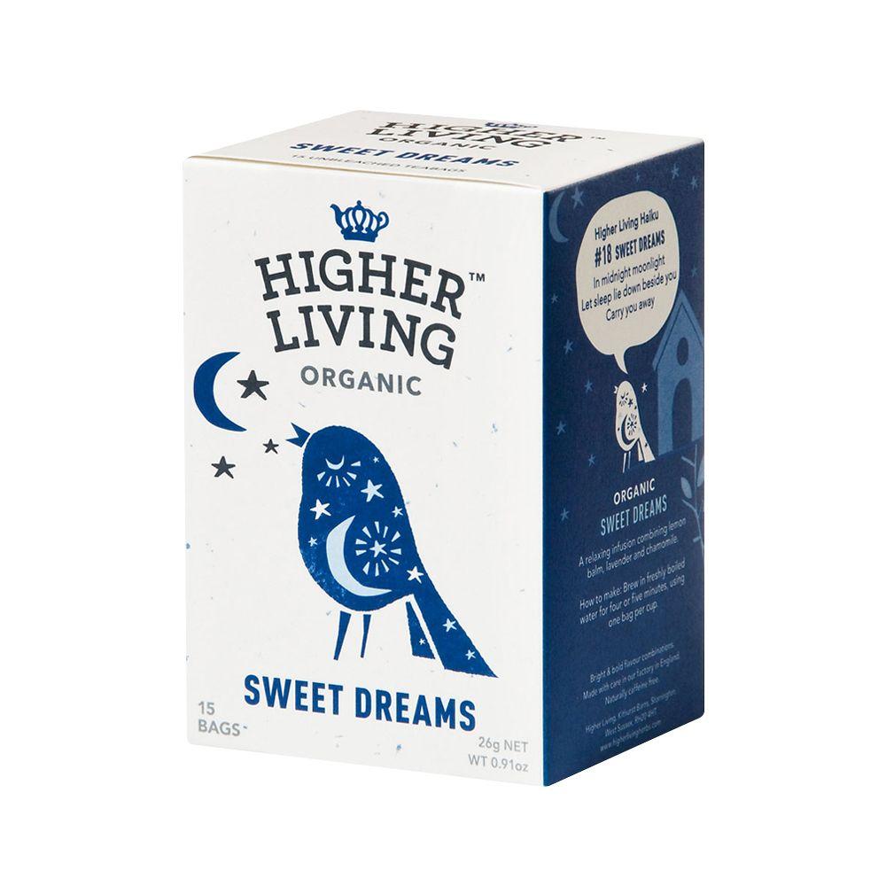 英國Higher Living—一夜好夢有機花草茶包組