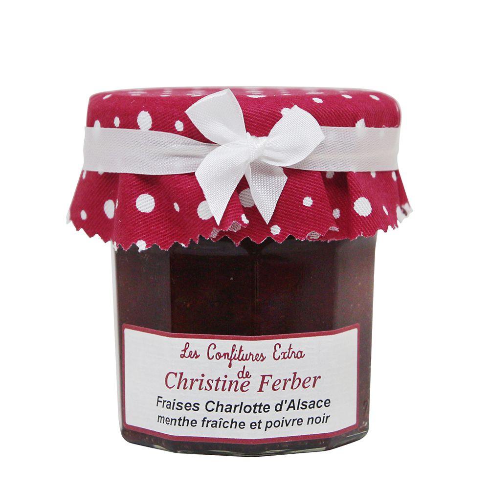 法國Christine Ferber—黑胡椒草莓薄荷果醬