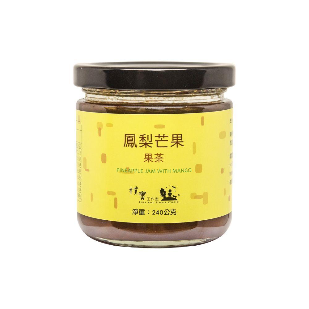 台灣樸實工作室—鳳梨芒果果茶