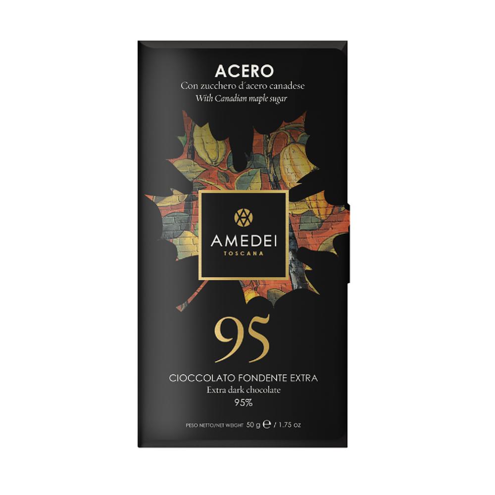 義大利Amedei-楓葉Acero95%巧克力BAR