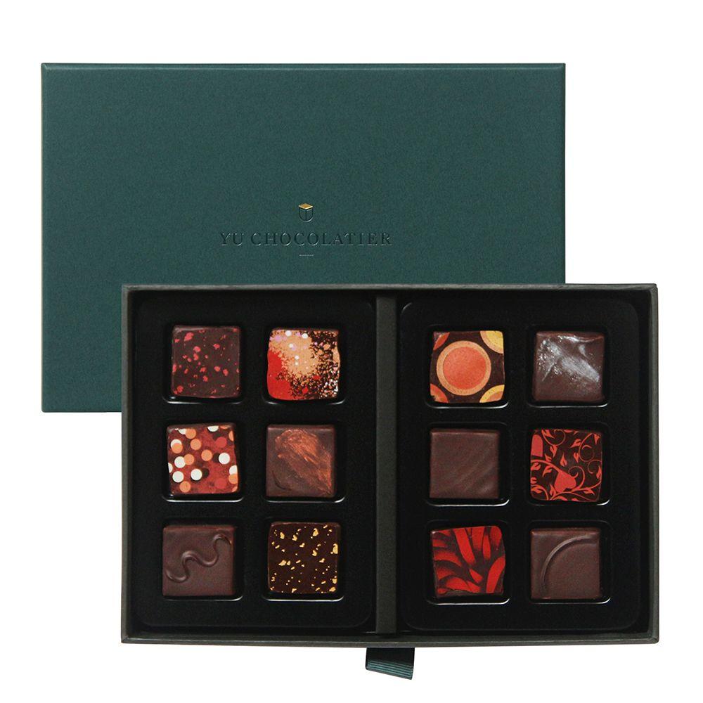 台灣畬室—Paris Edition巴黎限定巧克力禮盒(12顆)