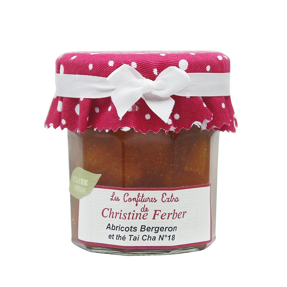 法國Christine Ferber—杏桃台灣台茶18號紅茶果醬(PEKOE獨家)