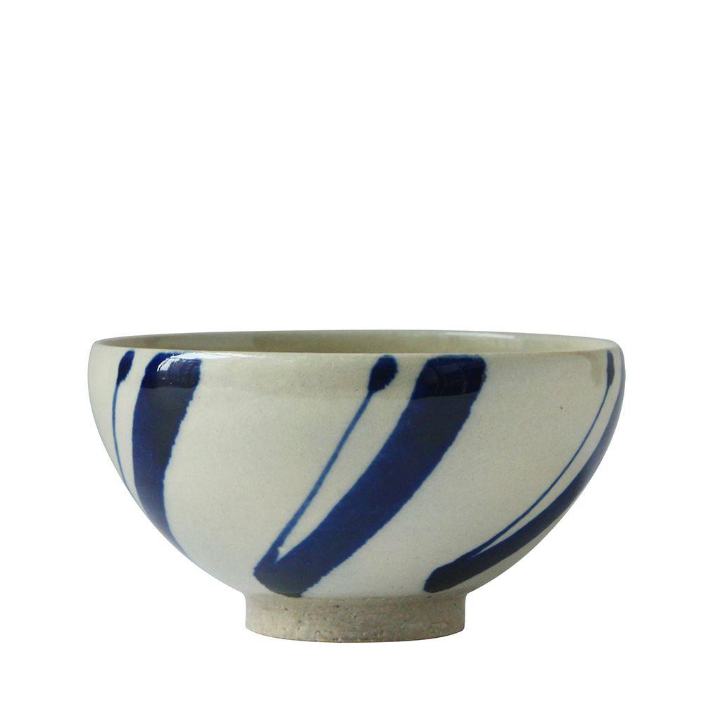 沖繩陶器工房壹—飯碗(松葉)