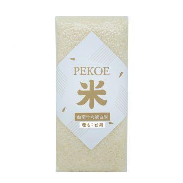 PEKOE選米—台南16號白米