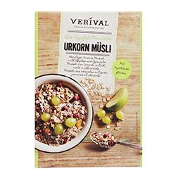 奧地利Verival-有機葡萄乾蘋果穀物麥片