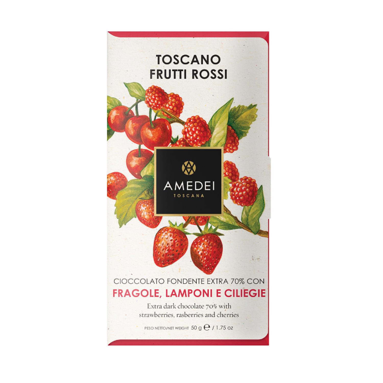 義大利Amedei—Toscano Red莓果巧克力BAR