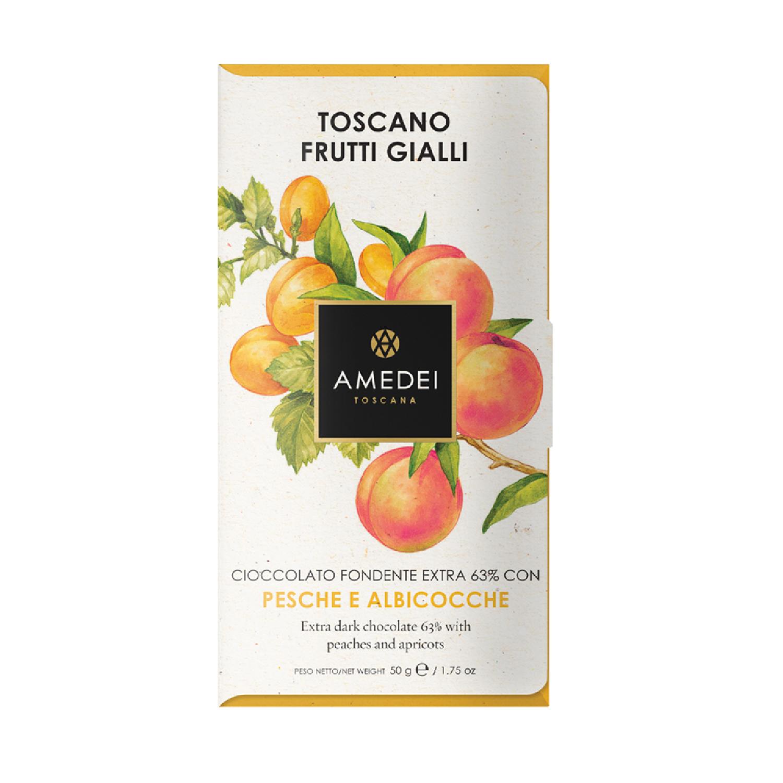 義大利Amedei-Toscano Blond水蜜桃杏桃巧克力BAR