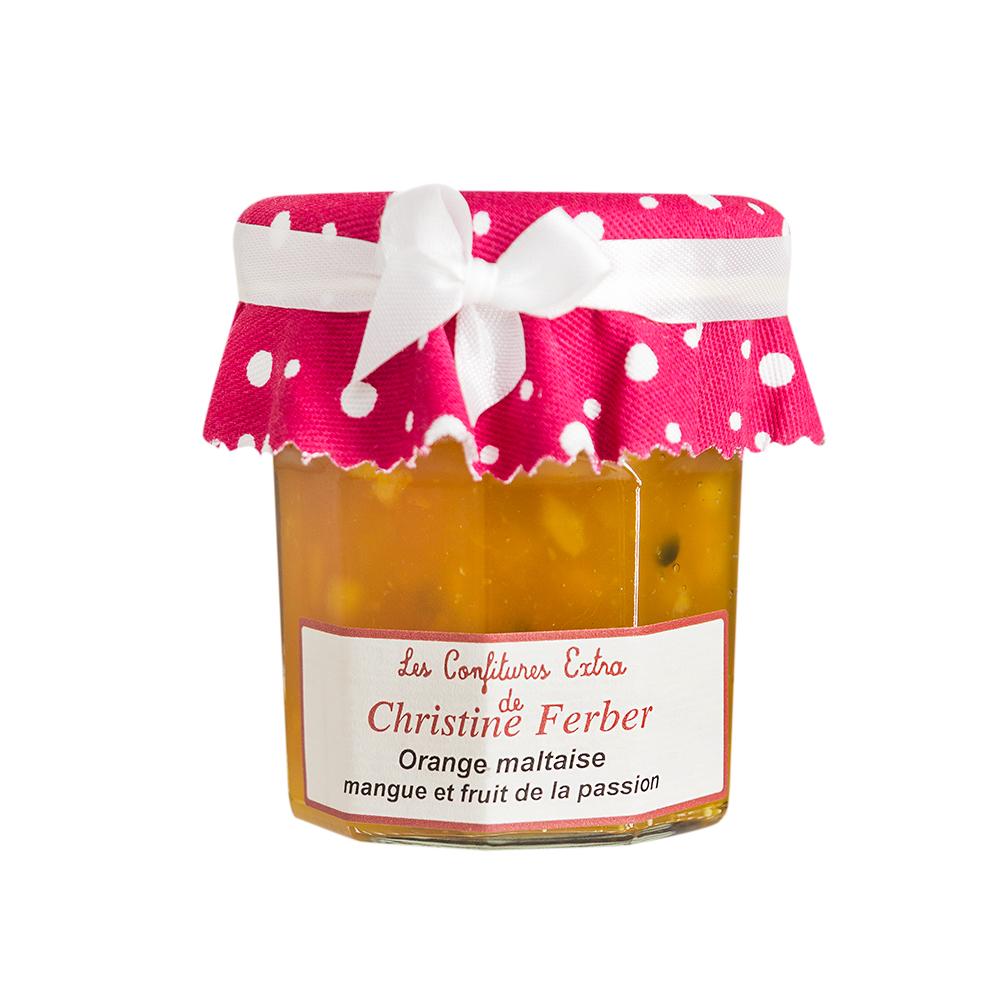 法國Christine Ferber—柳橙芒果百香果果醬