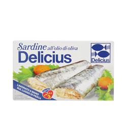 義大利Delicius—油漬沙丁魚罐頭