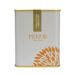 PEKOE精選-台灣白毫烏龍茶,50g(金屬罐.銀灰)