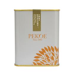 PEKOE精選-台灣鹿谷凍頂紅水烏龍茶,100g(金屬罐.銀灰)