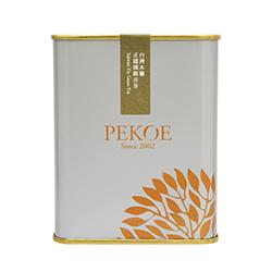 PEKOE精選-台灣木柵正欉鐵觀音茶,100g(金屬罐.銀灰)