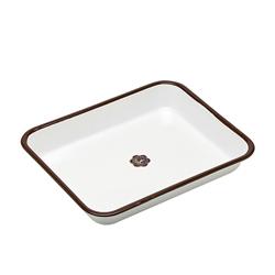 日本月兔印—琺瑯調理方盤(25cm)