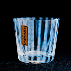 日本廣田硝子—大正浪漫豬口杯(十草)