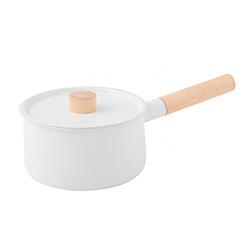 日本Kaico—琺瑯單手鍋(18cm)
