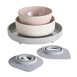 美國BONNSU—Miniware竹纖維兒童餐具五入組