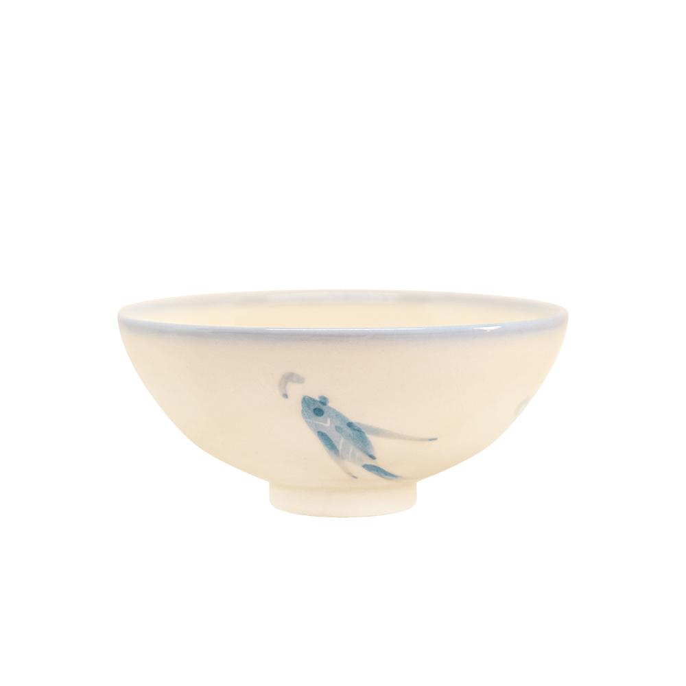 PEKOE飲食器—復古台灣碗.圓碗(鯉魚)