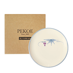 PEKOE飲食器禮盒—復古台灣盤.中盤(葡萄)