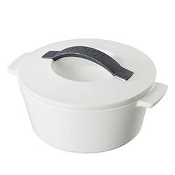法國REVOL-全能土鍋(圓形白蓋.直徑16cm)
