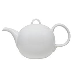 日本白山陶器—MAYU系列白瓷茶壺