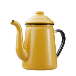 日本野田琺瑯—咖啡壺(黃)