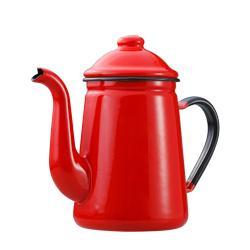 日本野田琺瑯—咖啡壺(紅)
