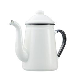 日本野田琺瑯—咖啡壺(米白)