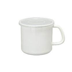 日本野田琺瑯—White Series系列杯型保存罐(1L)