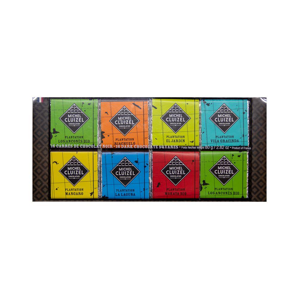 法國Michel Cluizel—七大莊園經典巧克力組合