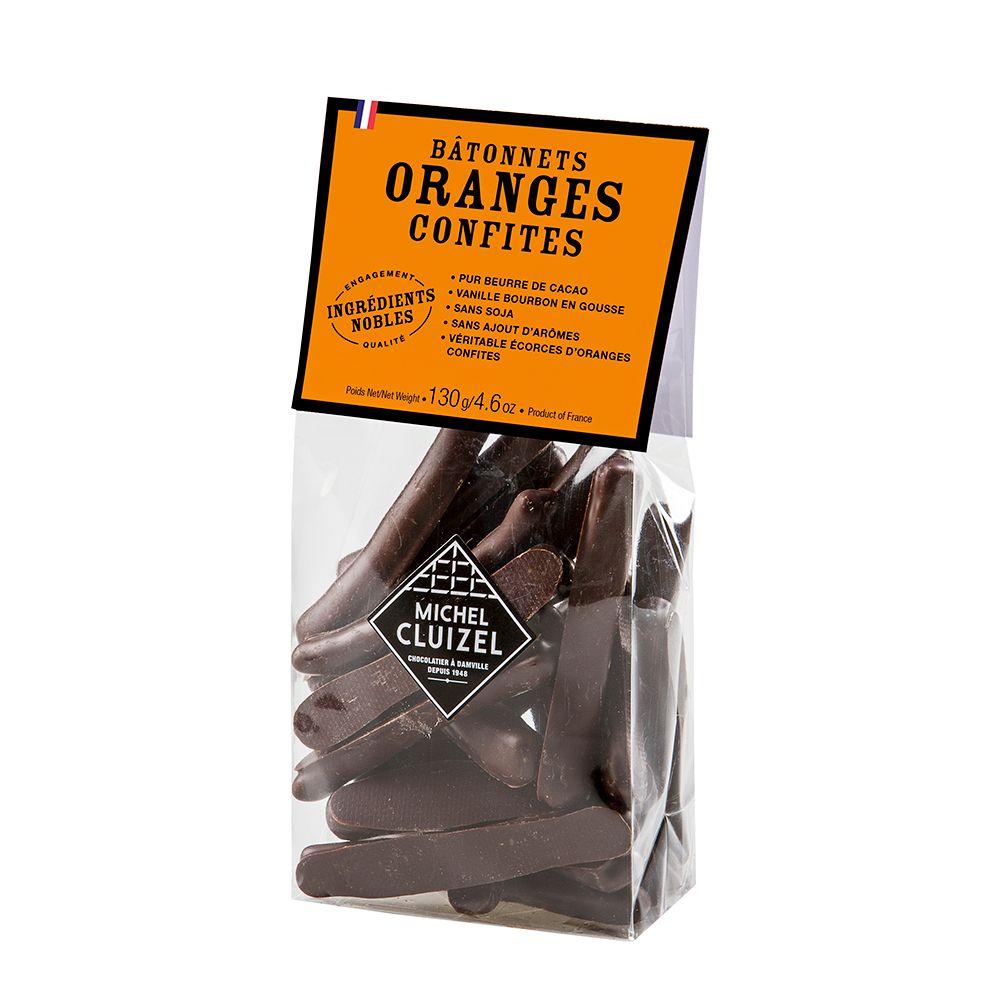 法國Michel Cluizel-橙條巧克力