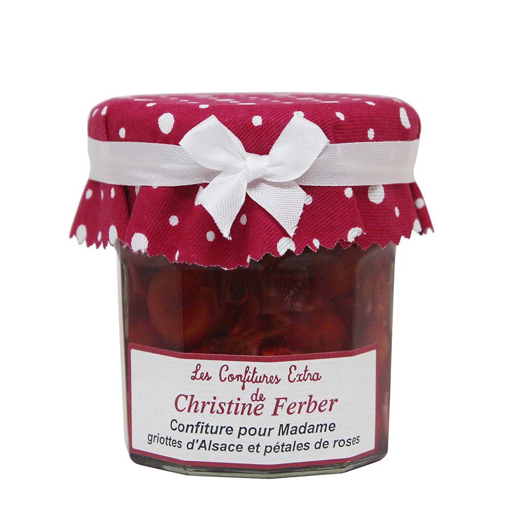 法國Christine Ferber—玫瑰櫻桃果醬