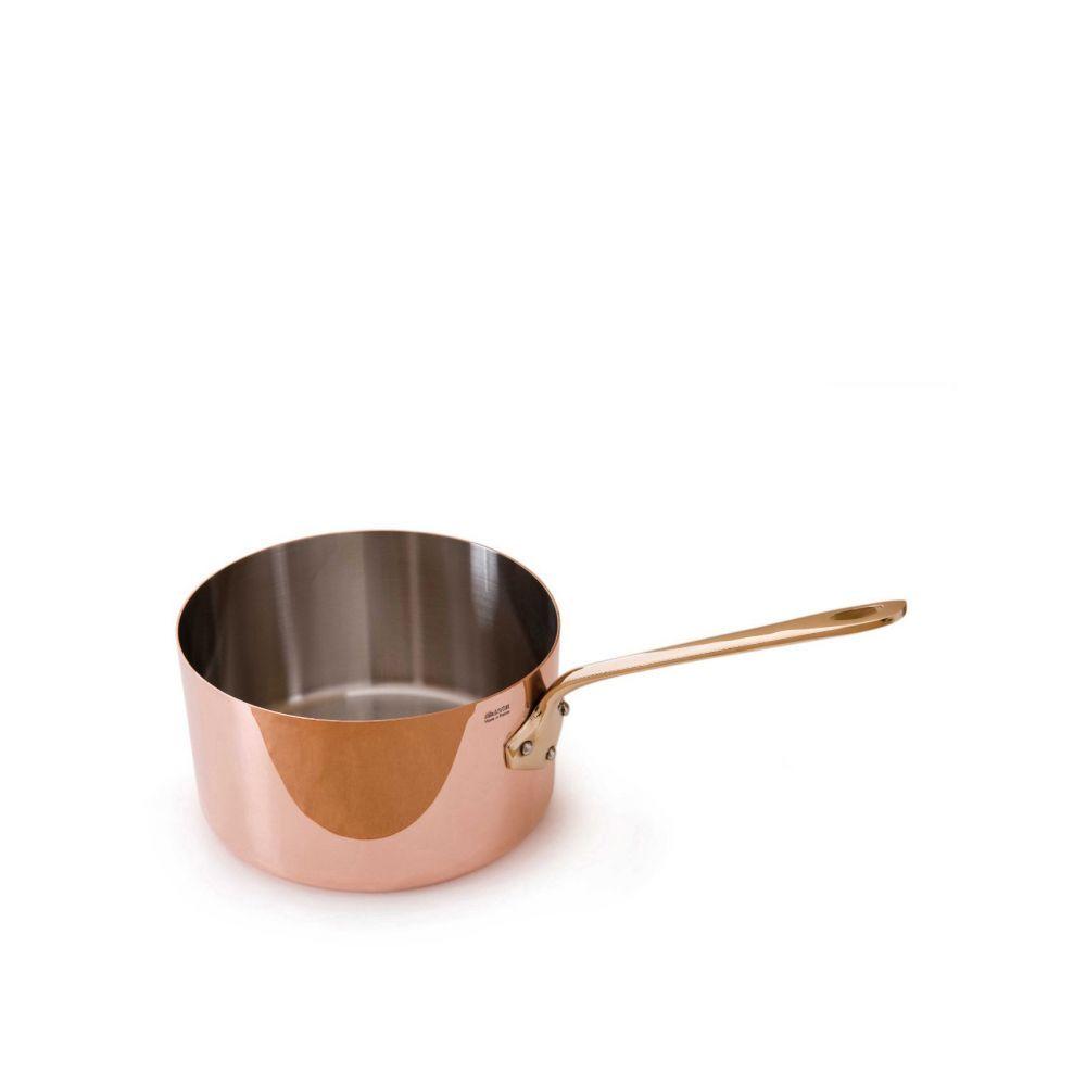法國Mauviel—紅銅單手醬汁鍋(12cm)