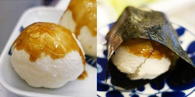 海苔醬油烤麻糬