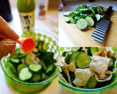 涼拌腐竹小黃瓜