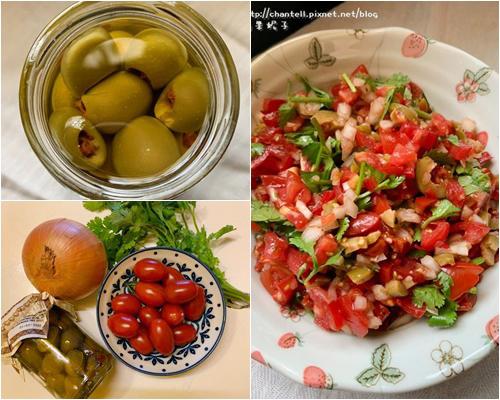 番茄橄欖莎莎醬