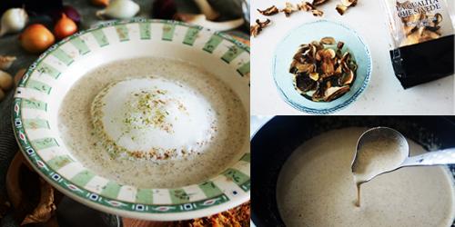 牛肝菌卡布奇諾濃湯