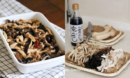 日式高湯醬煮什錦菇