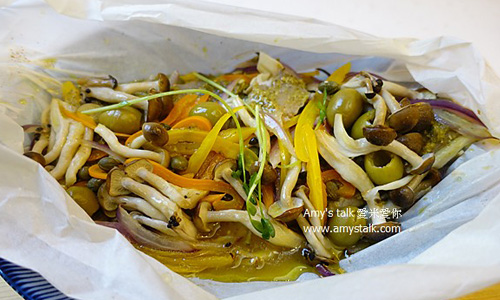 紙包青醬鯛魚